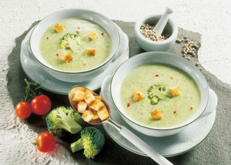 Brokkoli-Käsecreme-Suppe Foto: Wirths PR