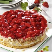 Erdbeer-Quark-Torte (für Diabetiker)