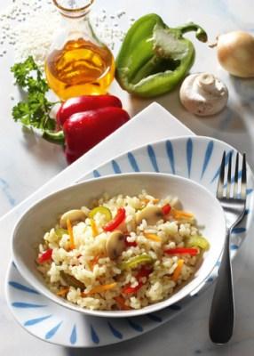 Diät-Rezept: Gemüserisotto Foto: Wirths PR