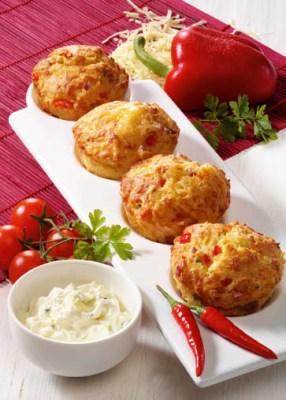 Pikante Muffins Foto: Wirths PR