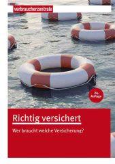 Richtig versichert Umschlag 2013 U1.indd