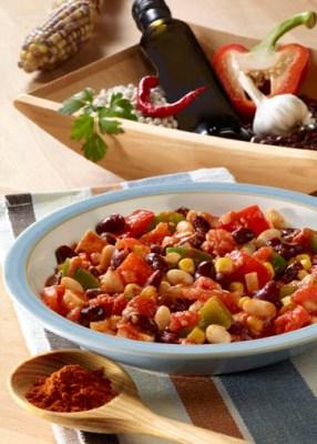 Schnelle Rezepte: Chili sin Carne Foto: Wirths PR