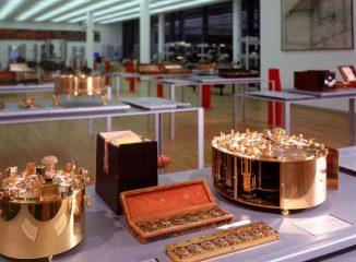 Hahn'sche Rechenmaschine von 1774. Das Modell im Arithmeum (c)Arithmeum_UniBonn_2013