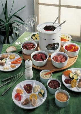 Gourmet-Fondue Foto: Wirths PR