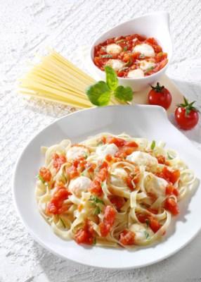 Diät-Rezept: Tagliatelle alla Sorrentina Foto: Wirths PR