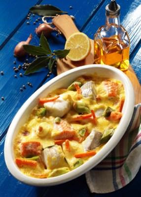 Gemüse-Fischragout (laktosefrei) Foto: Wirths PR