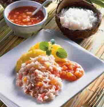 """Reis-Rezepte: Tomaten-Ananas-Reis """"Hawaii"""""""