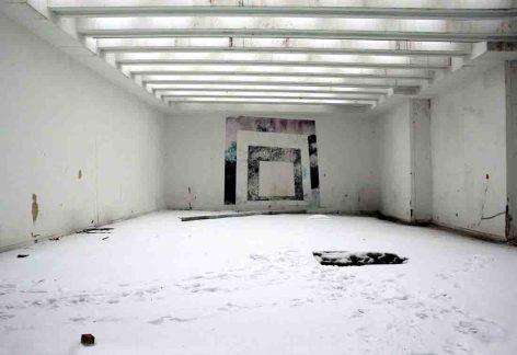 Schnee im Museum (2010). Foto: LWL/Deiters-Keul