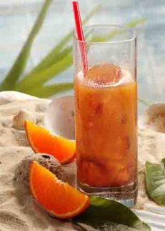 African Orange in Red (Eistee) Foto: Wirths PR