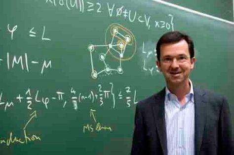 Prof. Dr. Jens Vygen vom Forschungsinstitut für Diskrete Mathematik der Universität Bonn. (c) Foto: Barbara Frommann/Uni Bonn