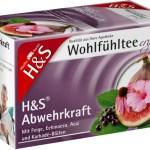 """Lecker und gesund: der Wohlfühltee """"Abwehrkraft"""" von H&S; Querformat Foto:© H&S-Tee / Wirths PR"""