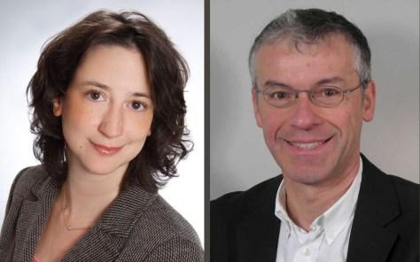 Prof. Dr. Nina Wettschureck und Prof. Dr. Markus Schwaninger Foto: Uni Lübebk