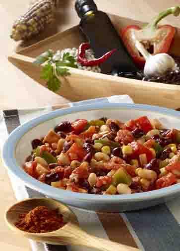 Chili sin Carne (für Veganer geeignet) Foto: Wirths PR