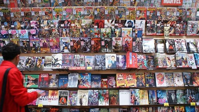 קומיקס וגיבורי על משמשים לביבליותרפיה