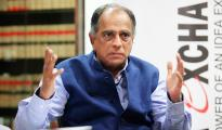 Pahlaj Nihalani head of the Central Board of Film Certification of India during Idea exchange at Express tower on Wednesday. Express photo by Prashant Nadkar, Mumbai, 25/11/2015