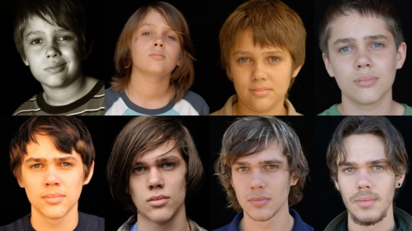 Ellar Coltrane as he appears in Richard Linklater's Boyhood