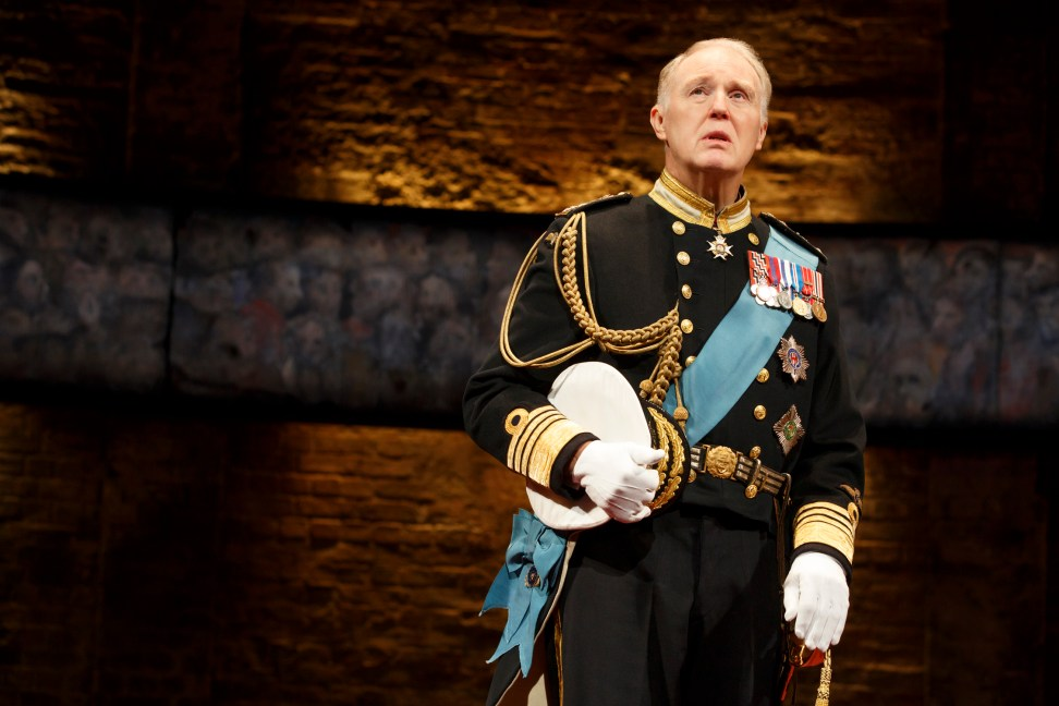 Tim Pigott-Smith as King Charles III. Photo © Joan Marcus.