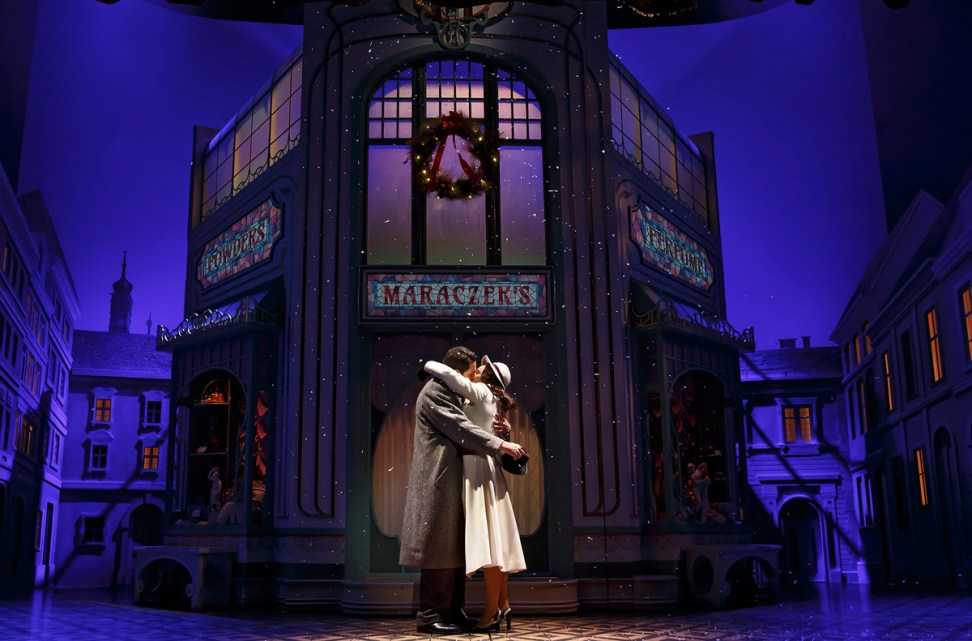 Zachary Levi and Laura Benanti in She Loves Me. Photo Joan Marcus.