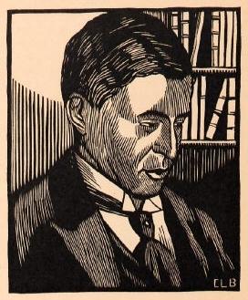 Albéric Magnard. Reproduction from La Revue musicale, Nov. 1st, 1920, Bibliothèque nationale de France