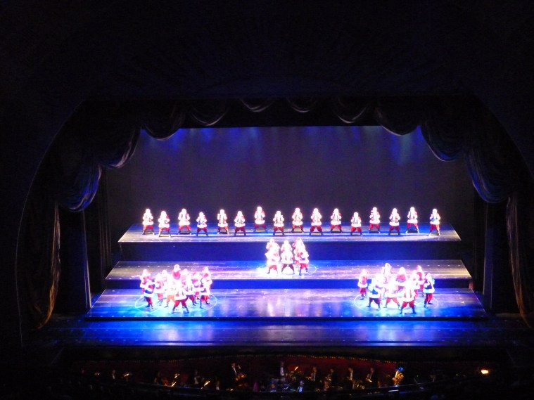 radio city christmas spectacular rockettes