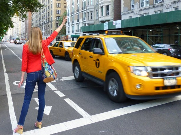 Is my boyfriend going to hold my hand and hail cabs for me from now on?