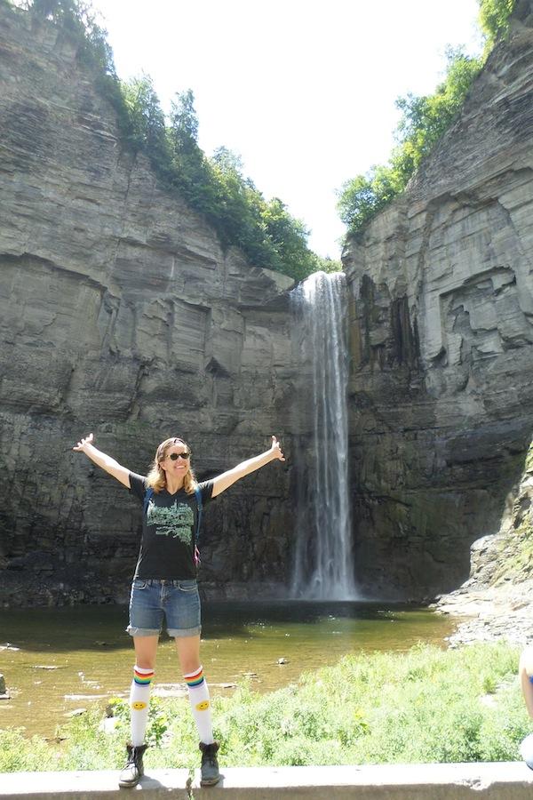 Ithaca Gorges Falls Socks