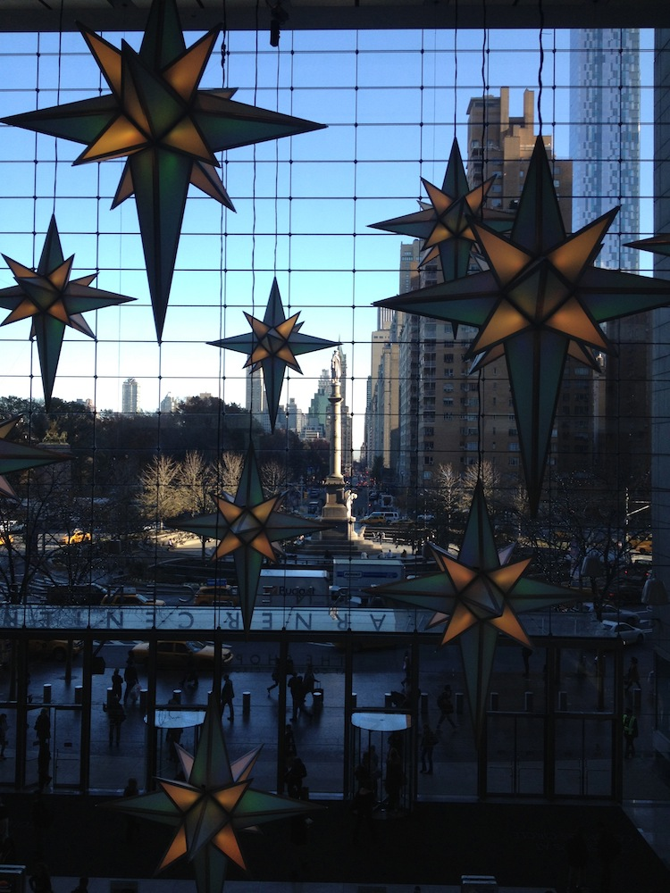 time warner columbus circle christmas