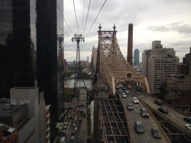 Roosevelt Island Tramway Queensboro Bridge