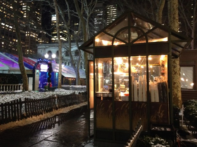 bryant park waffles and dings