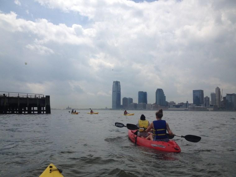 kayaking hudson nyc