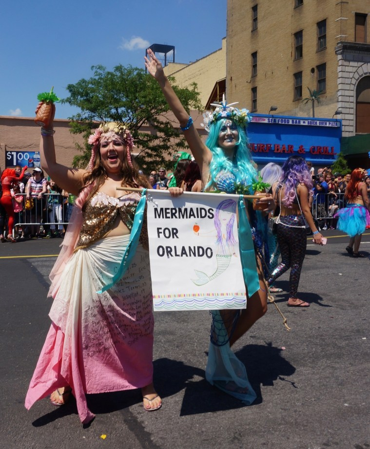coney island mermaid parade orlando