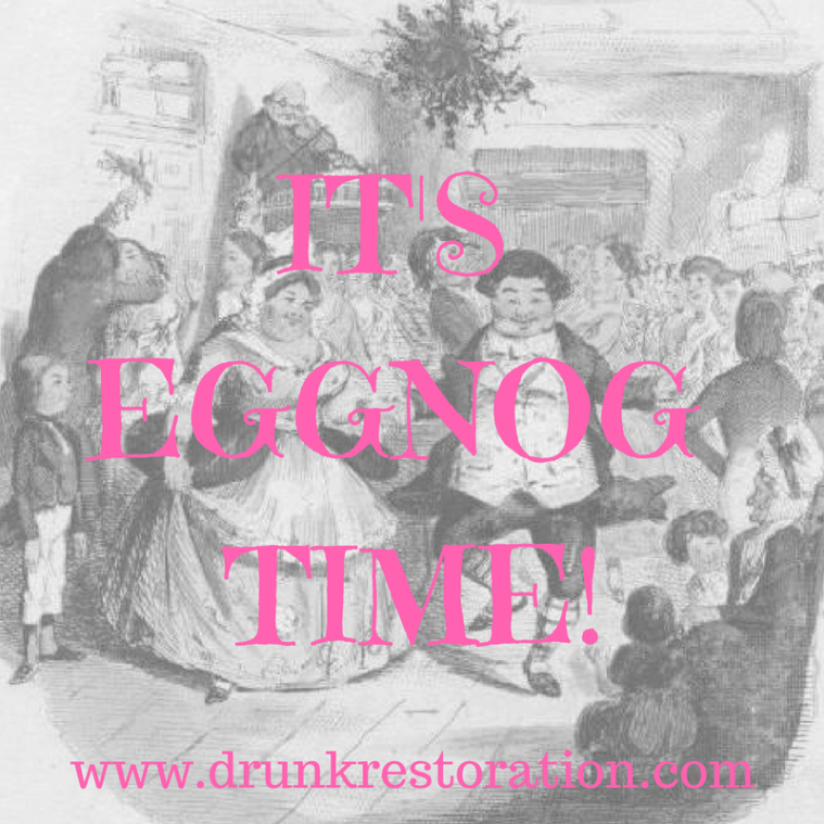 drunk restoration comedy christmas carol