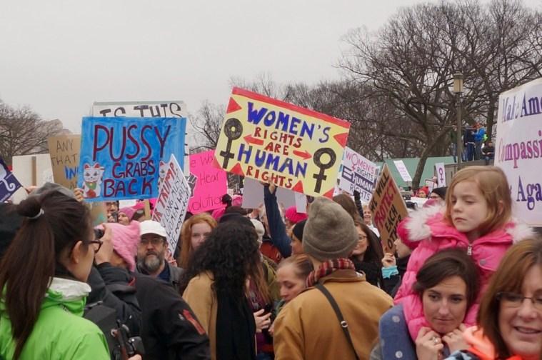 womens march washington dc crowds