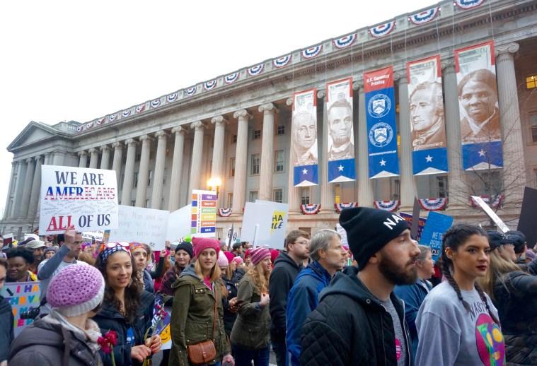 womens march washington dc mint