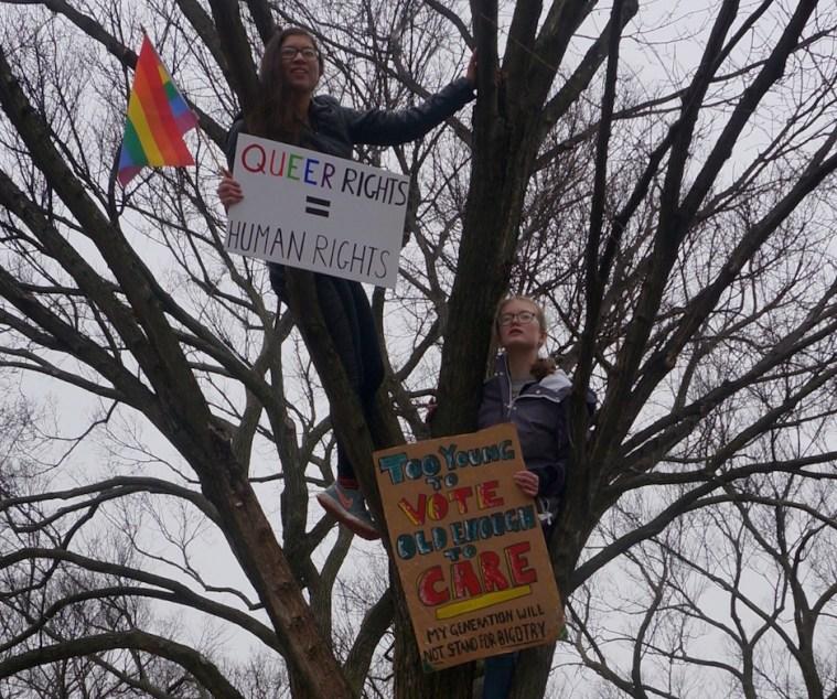 womens march washington dc teens