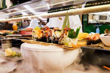 Luxury Sushi in London at Pan Chai