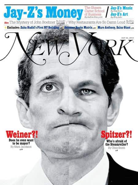 This is the cover of New York Magazine