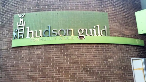 Inside the Hudson Guild Theater