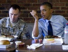 President Barack Obama Army First Lt. William Edwards