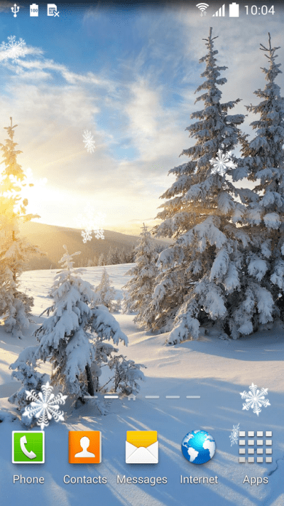 Top 7 Beautiful Winter Snow Live Wallpapers for Android