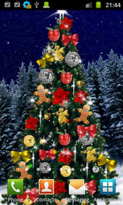 Beautiful Christmas Live Wallpapers for Android