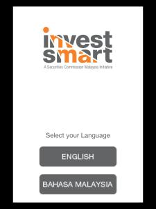InvestSmart mobile app landing page