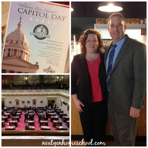 OK Homeschool Capitol Day