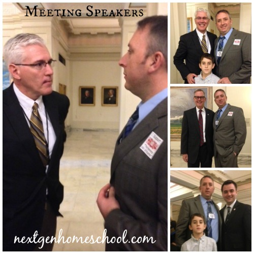 Oklahoma Homeschool Capitol Day Speakers Meet