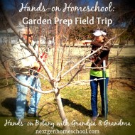 Hands-on Homeschool: Garden Prep Field Trip