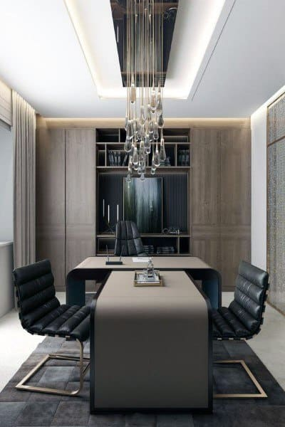 Top 70 Best Modern Home Office Design Ideas - Contemporary Working Spaces