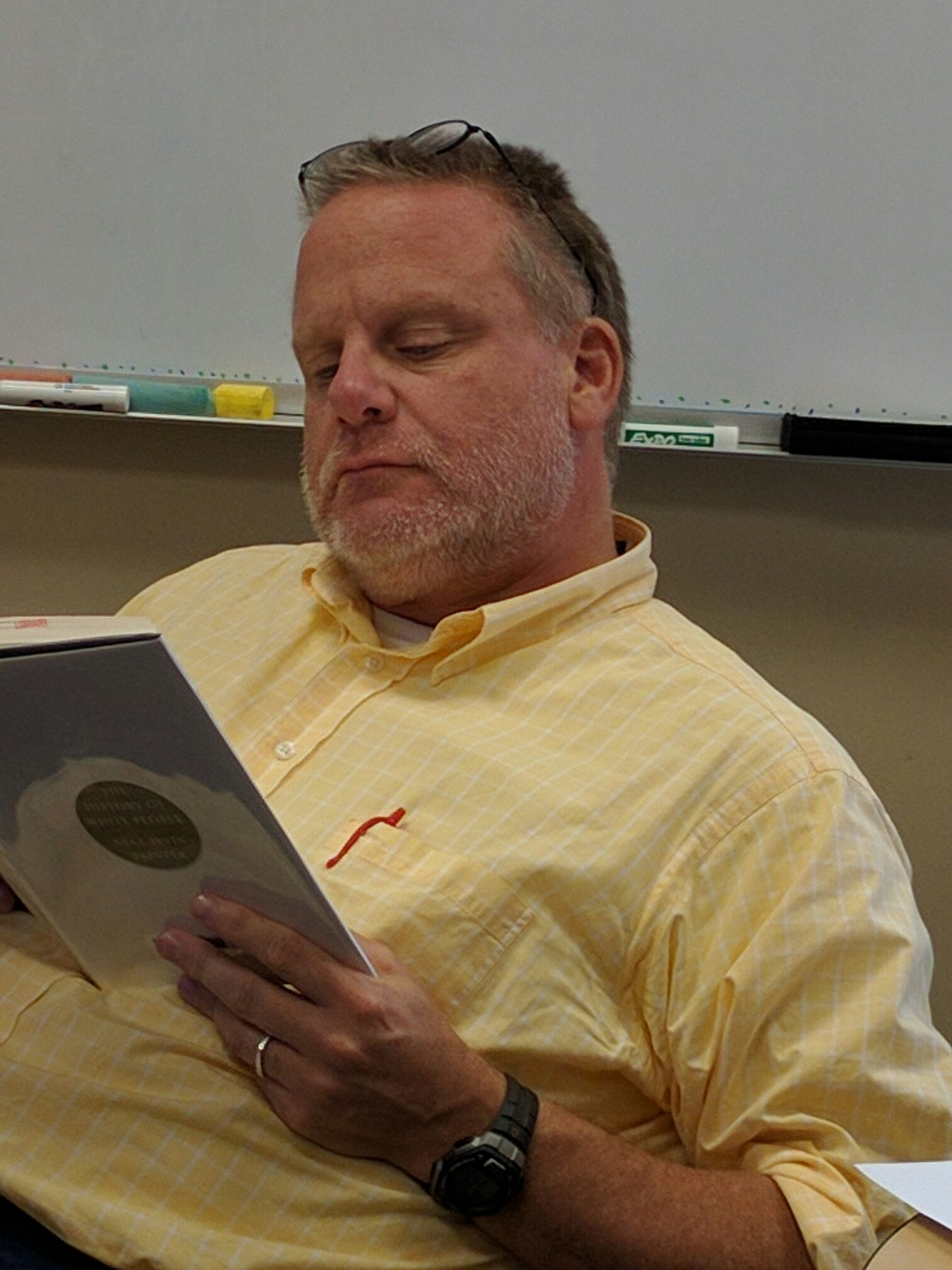 Chuck Wessell, Assistant Professor of Mathematics