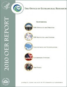 cover of the 2010 OER Report