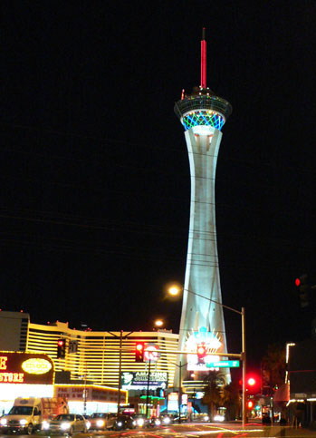 Stratosphere Tower in Las Vegas.