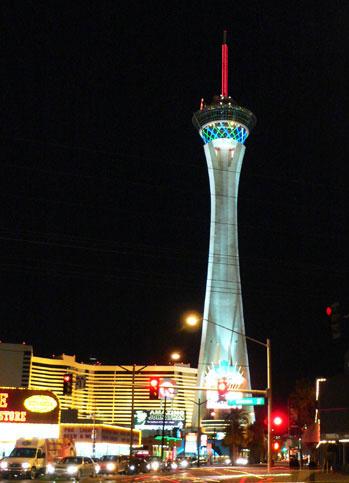 Stratosphere Tower in Las Vegas.